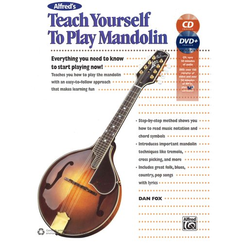 Alfred's Teach Yourself to Play Mandolin: Everything You Need to Know to Start Playing... by