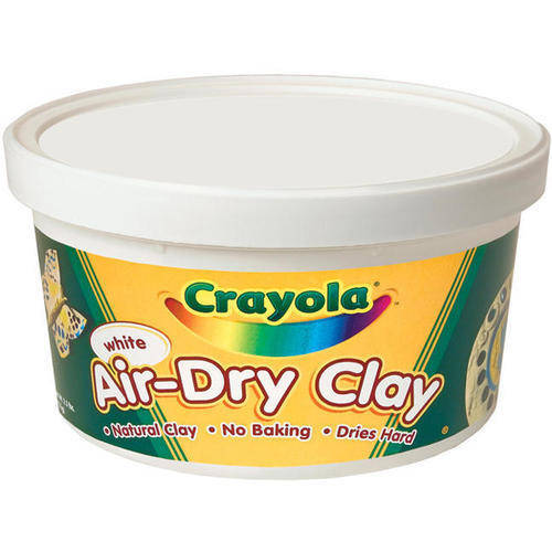Crayola Air-Dry Clay, 2.5 lb Tub, White