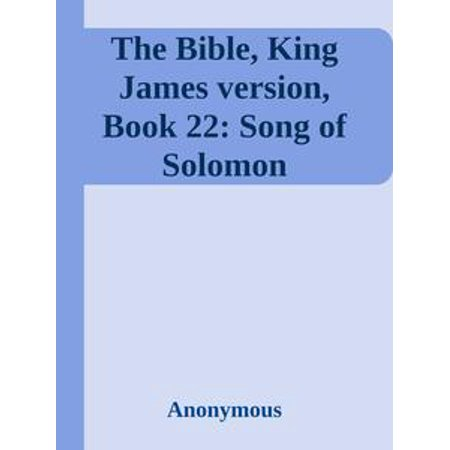 Song Of Solomon 3 (The Bible, King James version, Book 22: Song of Solomon -)