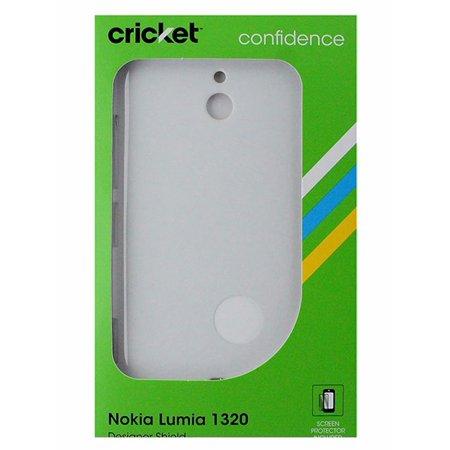 best website 15029 efdf8 Cricket Hardshell Case for Nokia Lumia 1320 - White
