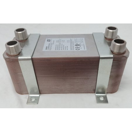 - 40 Plate Water to Water Brazed Plate Heat Exchanger 1