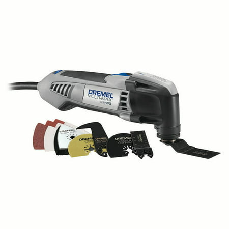 Dremel MM30-04 Multi-Max 3.3 Amp Corded Variable Speed Oscillating Tool Kit with 10 Accessories and Carrying