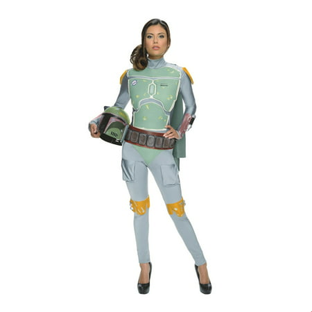 Star Wars Womens Female Boba Fett Halloween Costume