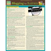 BarCharts 9781423228578 Blogging For Business Quickstudy Easel