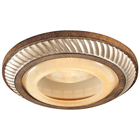 2818-206, Aston Court Bronze 6 inch Round Glass Recessed Trim, 50 Total Watts Halogen, Dimensions - 6 Aperture with 8 overall diameter. 1.5 Height By Minka Lavery From USA ()