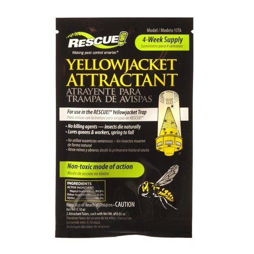 Rescue Yellow Jacket Attractant Liquid for Insect Traps Insect Control, 1 unit