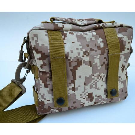 Field Trauma Kit - 60+pc First Aid Kit Bag Pouch Trauma Field Medic IFAK Utility 2 (Desert Marpat)