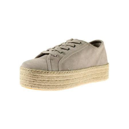 Steve Madden Womens Hamptn-s Suede Espadrille Fashion Sneakers ()
