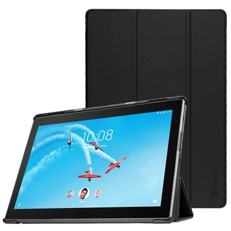 Fintie Slim Shell Case for AT&T Lenovo Moto Tab / Lenovo Tab 4 Plus 10.1-Inch Android Tablet (2017 Release), Black