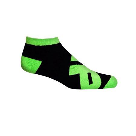 MusclePharm MP Low Cut Socks - Black/Green - gym fitness training