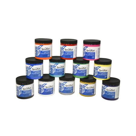 Publication Printing Inks (Speedball Water Soluble Block Printing Ink, Set of 12 )