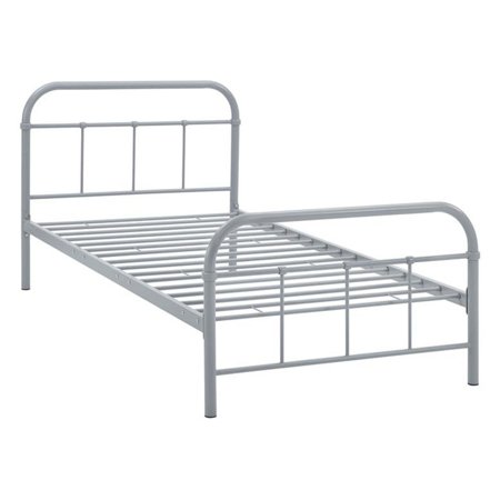 214ecb10f18d Modway Maisie Stainless Steel Bed Frame - Walmart.com