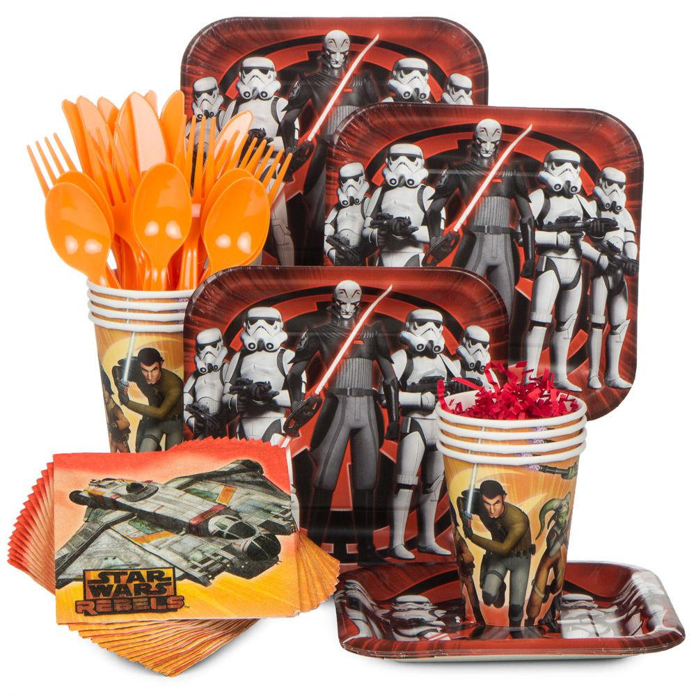 Star Wars Rebels Standard Kit (Serves 8) - Party Supplies