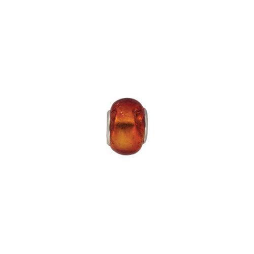 Janlynn Ruby Glass Bead
