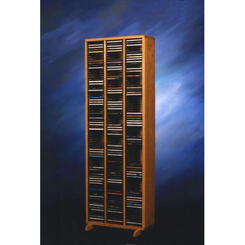 Wood Shed 300 Series 240 CD Multimedia Storage Rack