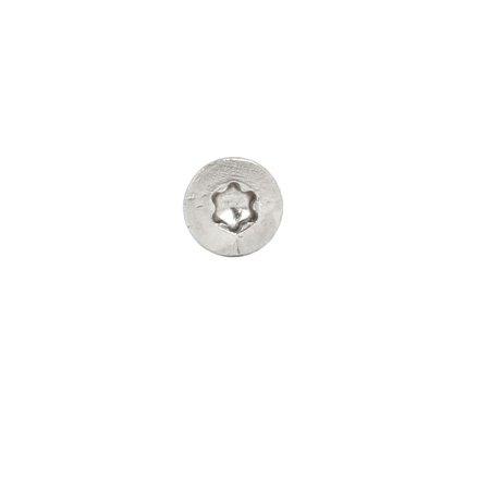 M1.6x4mm tête plate acier inox 304 T4 20PCS attaches vis Torx - image 1 de 3