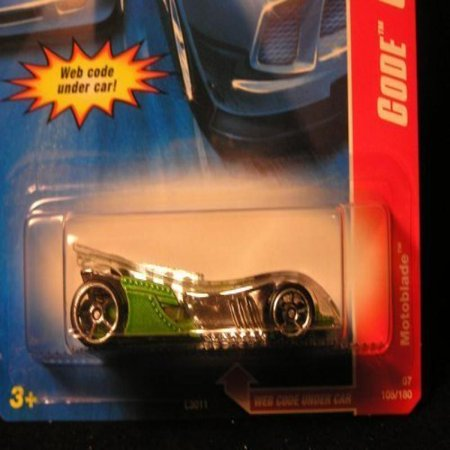 2007 HOT WHEELS Code Car Series Motoblade Mattel Hot Wheels Diecast Collectibles Collector Car!! #105/180