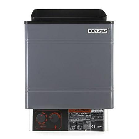COASTS Sauna Heater for Spa Sauna Room - AM45MI - 4.5KW - 240V - Inner Controller