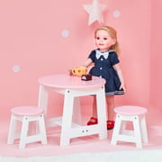 """Olivia's Little World - Little Princess 18"""" Doll Outdoor Table & 2 Chairs Set"""