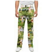 Loudmouth Golf Men's Birds of Paradise 36-32 Pants