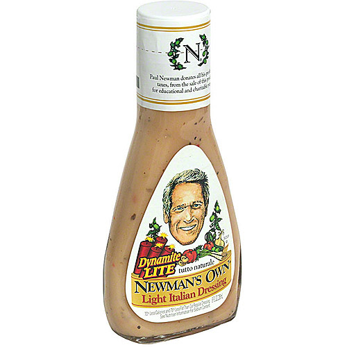 Newman's Own Light Italian Dressing, 8 O