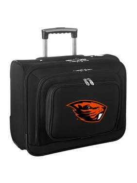 Boise State Broncos Carry-On Rolling Laptop Bag - Black