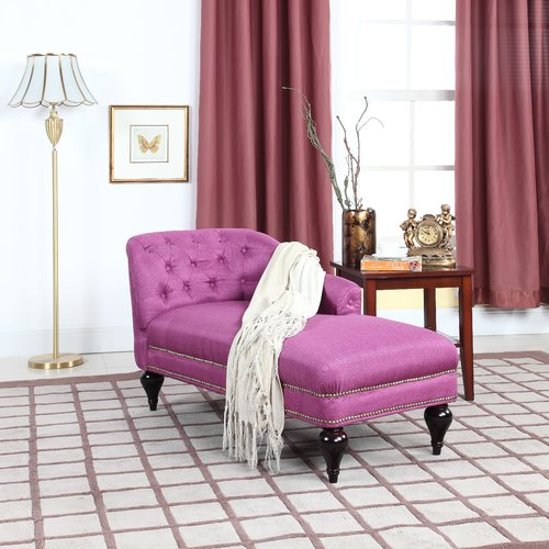 Details about Modern Kids Chaise Lounge Sofa Chair Trim Princess Room Girls  Furniture Bedroom