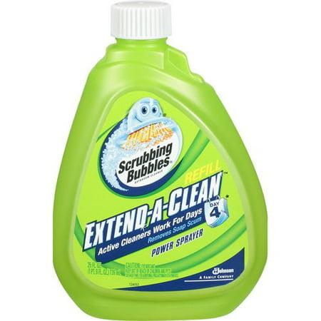 Scrubbing Bubbles Extend A Clean Power Sprayer Bathroom