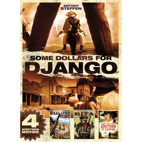 Some Dollars For Django: 4 Western Movies (Widescreen)