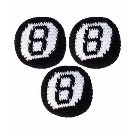 Hacky Sack- 1 single- 8 Ball Kickbag, Boota ball