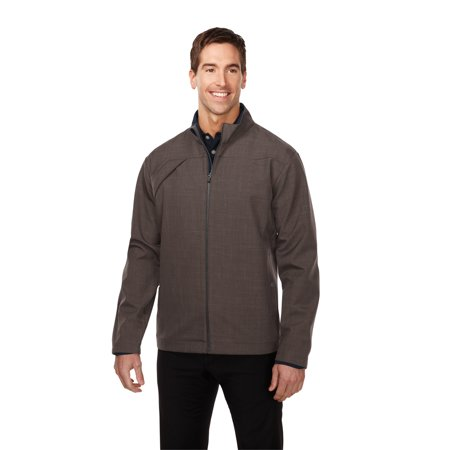 GOLD Men's Bonded Zip Jacket W/Tmp Smoky Zip Pull, Two Pocket With Snap Closure,