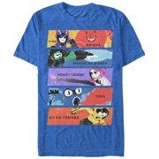 Big Hero 6 Men's Superhero Team Panels T-Shirt