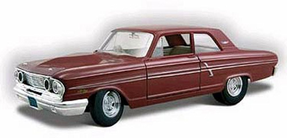 1964 Ford Fairlane Thunderbolt, Maroon Maisto Special Edition 31957MR 1 24 scale diecast... by Maisto