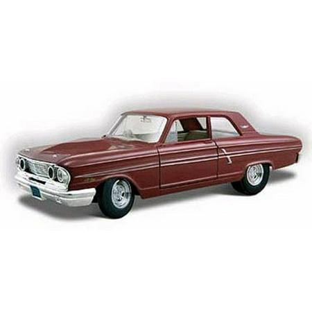 1964 Ford Fairlane Thunderbolt, Maroon - Maisto Special Edition 31957MR - 1/24 scale diecast model car (Maroon Diecast Car)