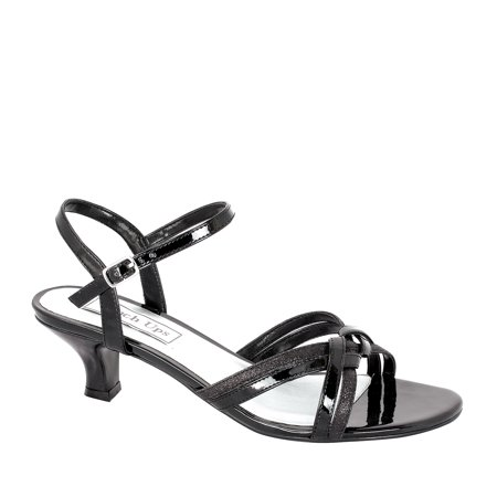Image of Touch Ups Womens Melanie Ankle Strap Sandal, Black,5 M US