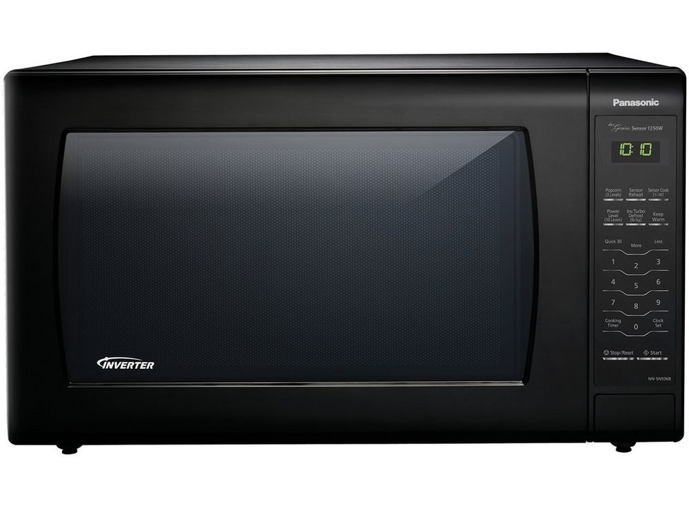 Panasonic 2 2 Cu Ft Countertop Microwave Oven With