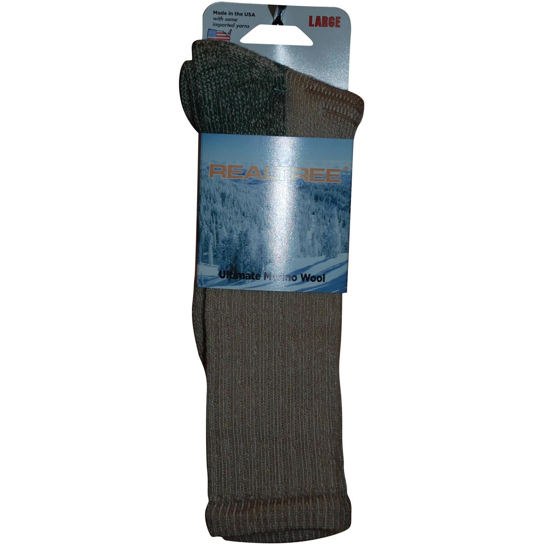 Realtree Men's Ultimate Wool Sock by Nester Hosiery