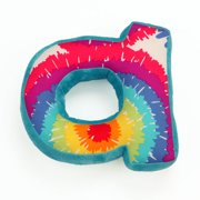 One Grace Place Terrific Tie Dye Letter Throw Pillows
