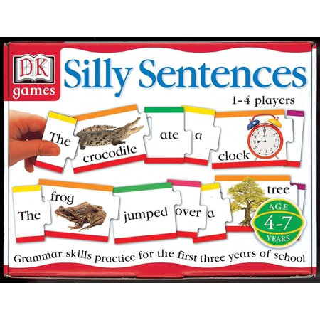 Grammar Review Games (DK Toys & Games: Silly Sentences : Grammar Skills Practice for the First 3 Years of)