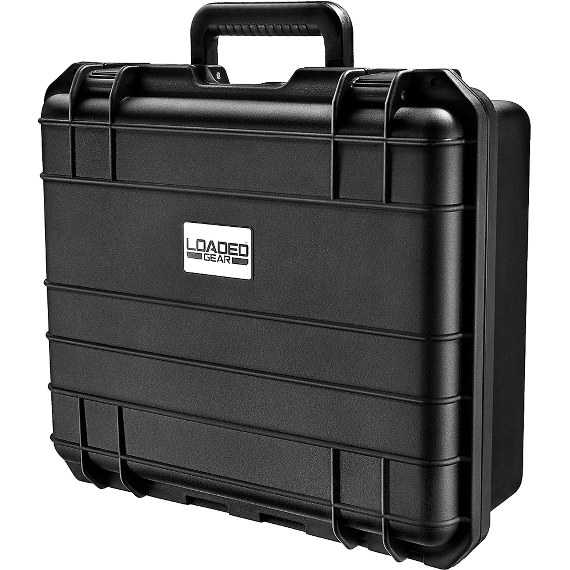 Barska Optics Loaded Gear Hard Case, HD-300, Black Strap