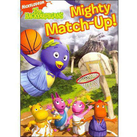 BACKYARDIGANS-MIGHTY MATCH UP (DVD)