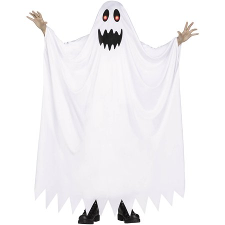 Halloween White Ghost Costume (Fade In and Out Ghost Child Halloween)