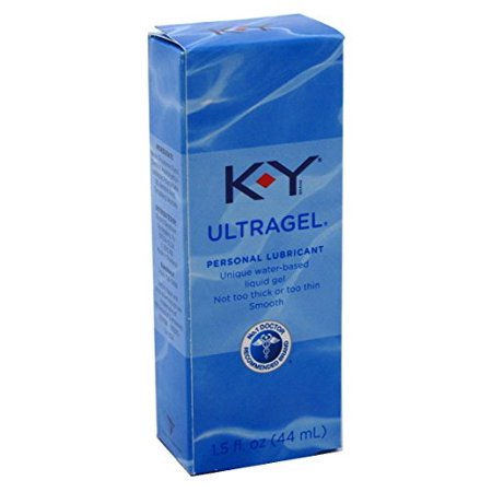 KY Jelly UltraGel Personal Lubricant Unique Water Based gel 1.5 Oz