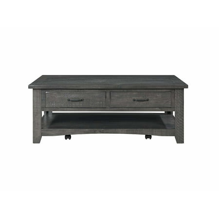 Martin Svensson Home Rustic Collection Coffee Table, Grey Martin Furniture Coffee Table