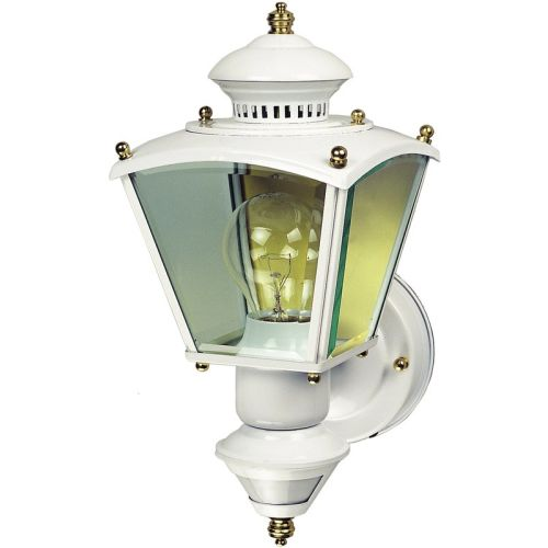 Heath Zenith HZ-4150 Charleston Coach 1 Light 150 Degree Motion Activated Outdoor Wall Sconce