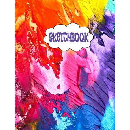 Sketchbook Inspirational Large Fancy Journal Sketch Book For Sketching Doodling And Drawing Workbook For Girls Boys And Adults Paperback