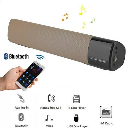 Powerful 360° Sound Bar TV Soundbar Stereo Wireless Bluetoot h Home Theater Speaker 3D Surround