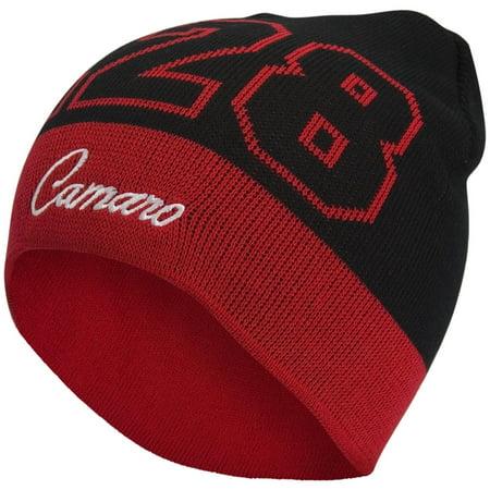 Metal Chevrolet Hat (Chevrolet - Camaro Logo Beanie Knit Hat )