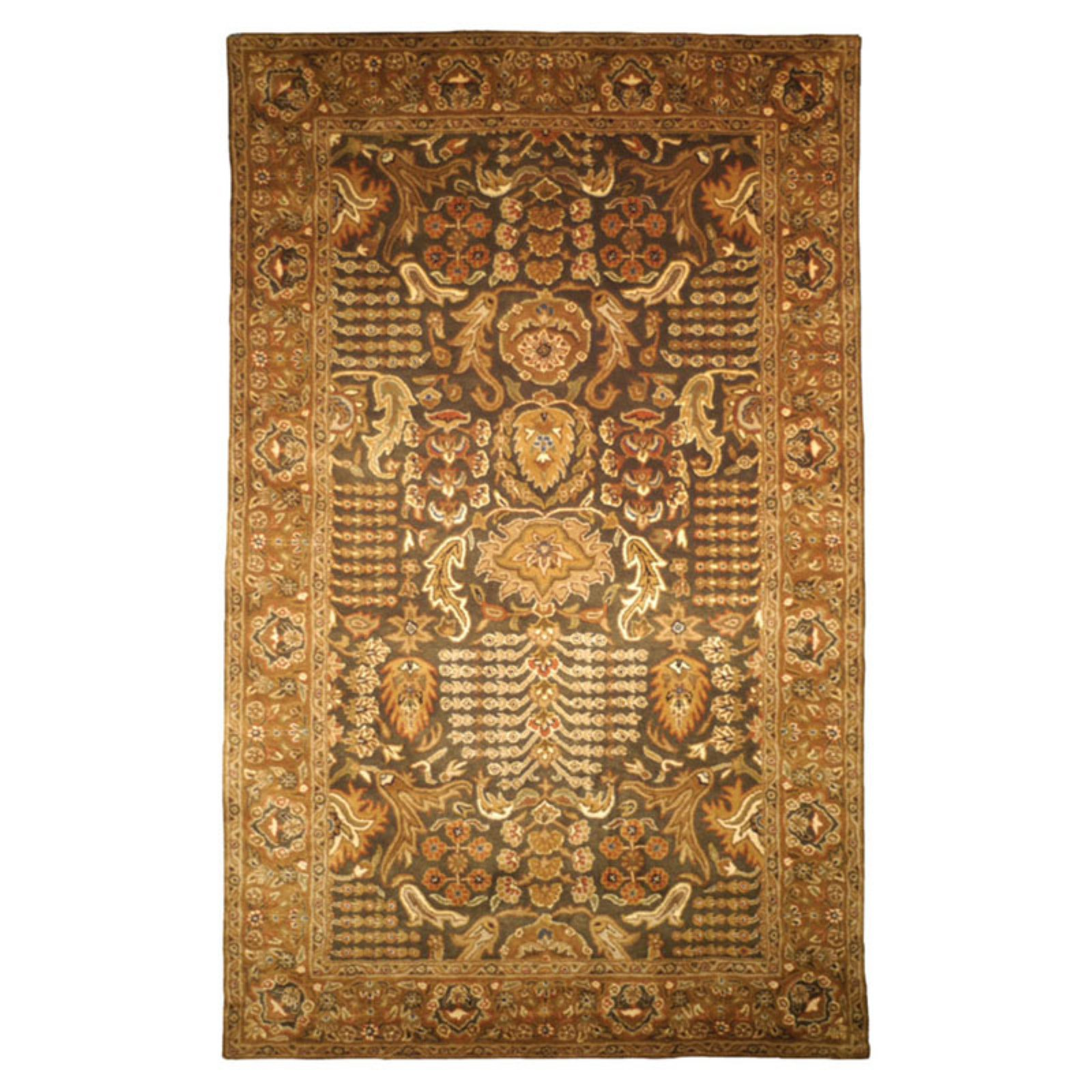 Safavieh Classic Green/Gold Tree of Life Rug