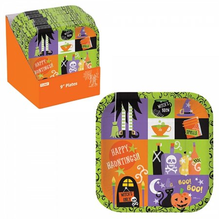 FLOMO Halloween Square Plates (Gordon Square Halloween)